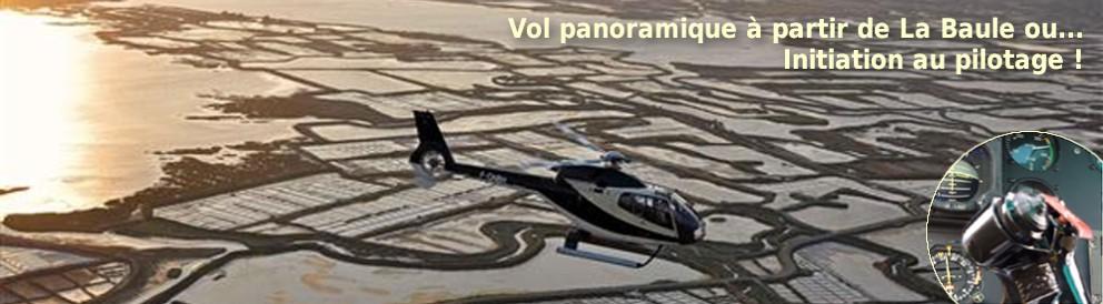 hélicoptère la baule